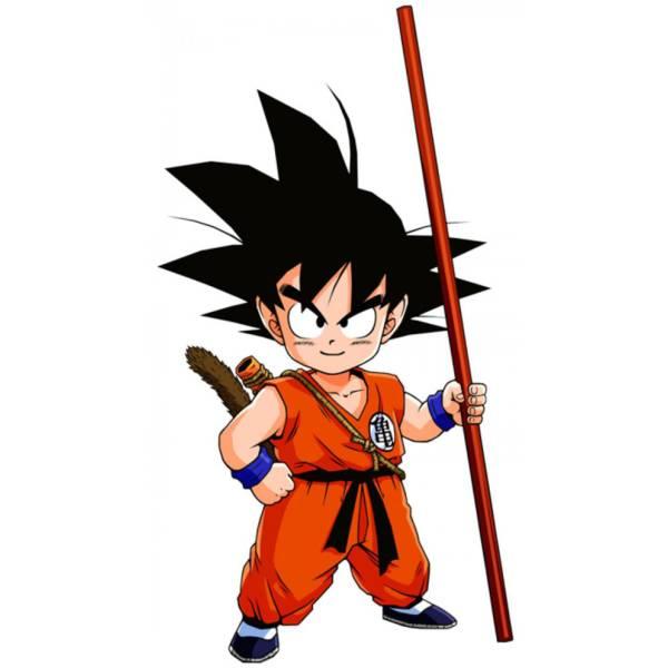 Disegno Di Goku Dragon Ball A Colori Per Bambini