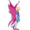 Disegno di La Signora dell' Aria a colori
