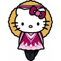 Disegno di Hello Kitty Ballerina a colori
