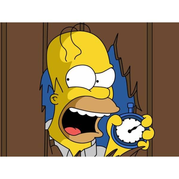 Disegno di Homer dei Simpson a colori