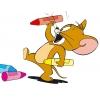 Disegno di Jerry con Pastelli a colori