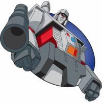 Disegno di Megatron Transformers a colori