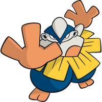 Disegno di Pokemon Hariyama a colori