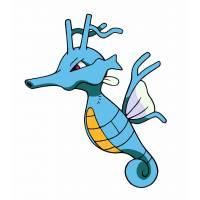 Disegno di Pokemon Kingdra a colori