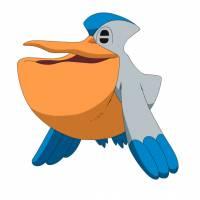disegno di Pokemon Pelipper a colori