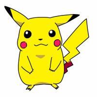 Disegno di Pokemon Pikachu a colori