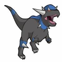 Disegno di Pokemon Rampardos a colori