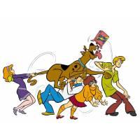 Disegno di Scooby Doo & Co. a colori