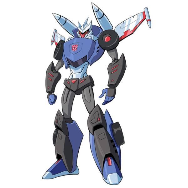 Disegno di The Transformers a colori