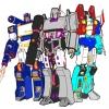 Disegno di Transformers a colori