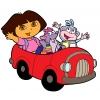 Disegno di Dora l'Esploratrice e i suoi Amici a colori