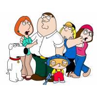 disegno di Famiglia Griffin a colori