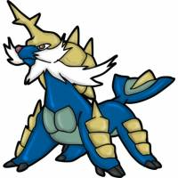 Disegno di Pokemon Samurott a colori