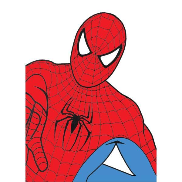 Disegno Di Spiderman A Colori Per Bambini