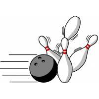 Disegno di Bowling a colori