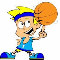 Disegno di Basket a colori