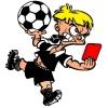 disegno di Arbitro di Calcio a colori