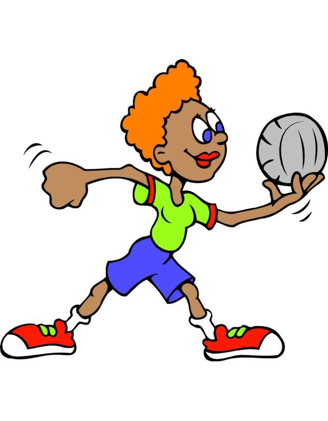 Disegno di pallavolo femminile a colori per bambini - Campi da pallavolo gratis stampabili ...