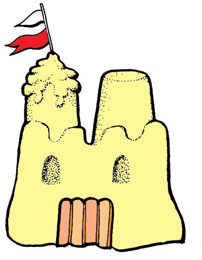 disegno di Castello di Sabbia a colori