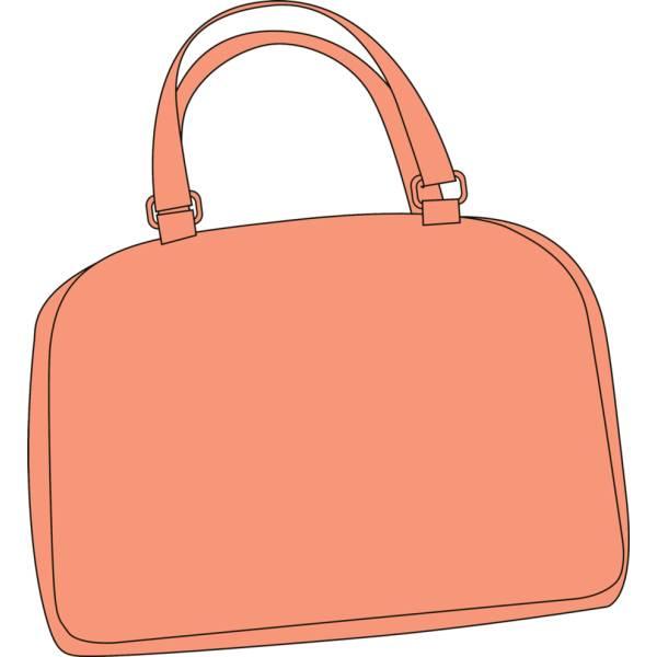 Disegno di Borsa Rosa a colori