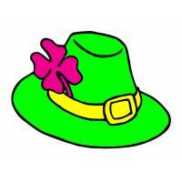 disegno di Cappellino con fiore a colori