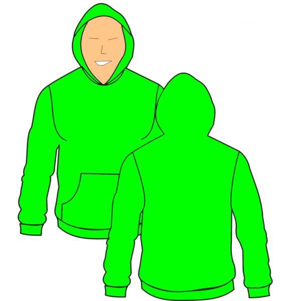 Felpa Disegno Da Colorare.Disegno Di Felpa Verde A Colori Per Bambini