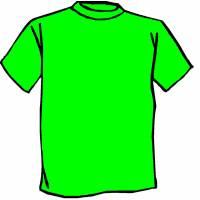 Disegno di Maglietta Verde a colori
