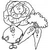 Disegno di Vegetali Animati da colorare
