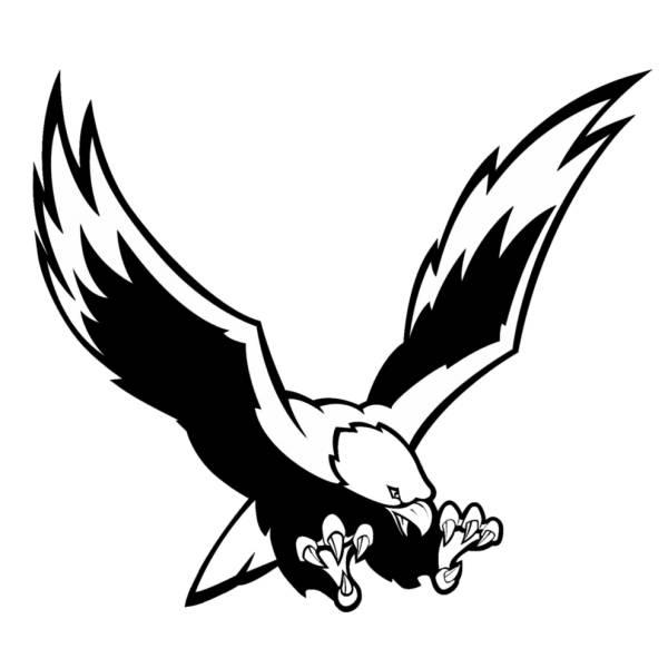 Disegno di Aquila che Caccia da colorare