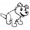 disegno di Cucciolo da colorare