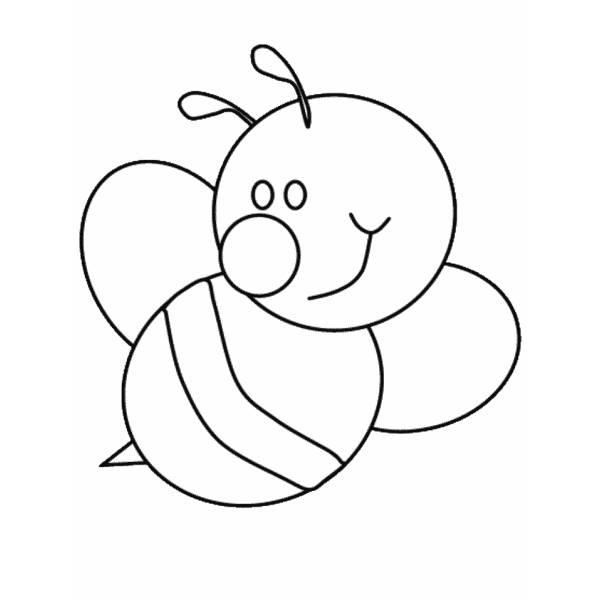 Disegno Di Ape Da Colorare Per Bambini Disegnidacolorareonlinecom