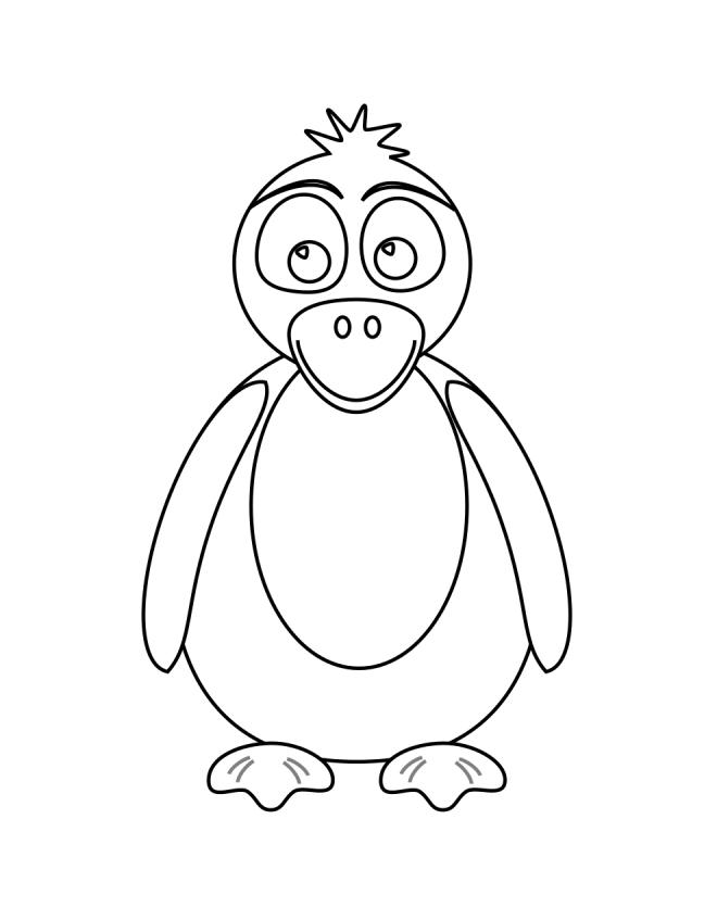 Carros antiguos coloring pages for Disegno pinguino colorato