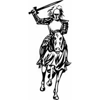 disegno di Cavaliere da colorare