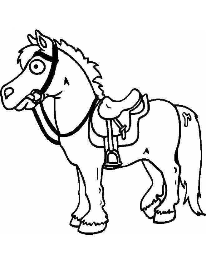 Colorareit disegni da colorare animali cavalli cavallo 4 for Immagini di cavalli da colorare