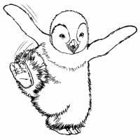 disegno di Happy Feet da colorare