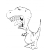 Disegno di Tirannosauro da colorare