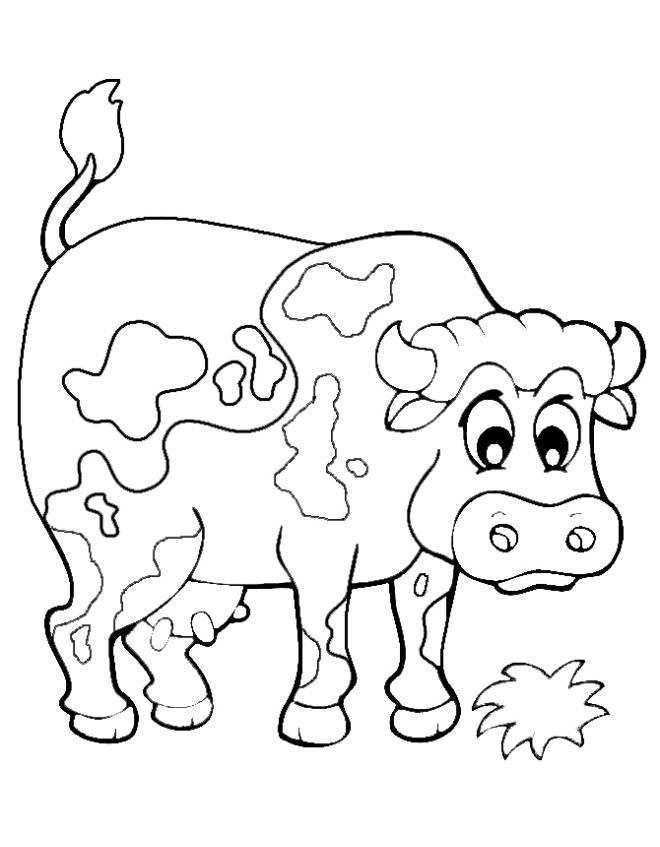 Disegni macchie di colore da colorare for Disegno della fattoria americana