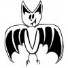 Disegno di Pipistrello da colorare
