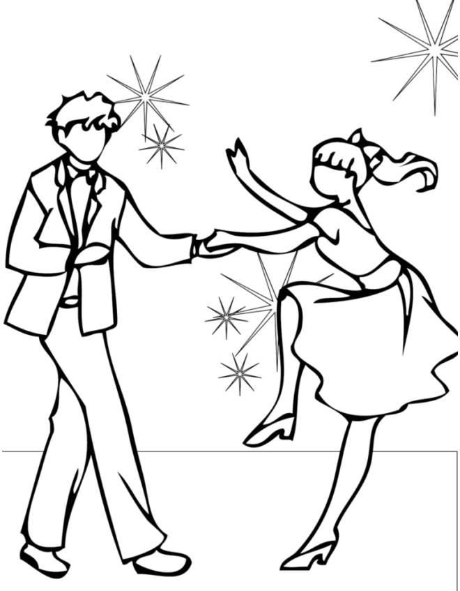 Disegno di ballando con le stelle da colorare per bambini - Come disegnare immagini di halloween ...