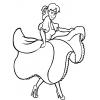 Disegno di Ballerina  da colorare