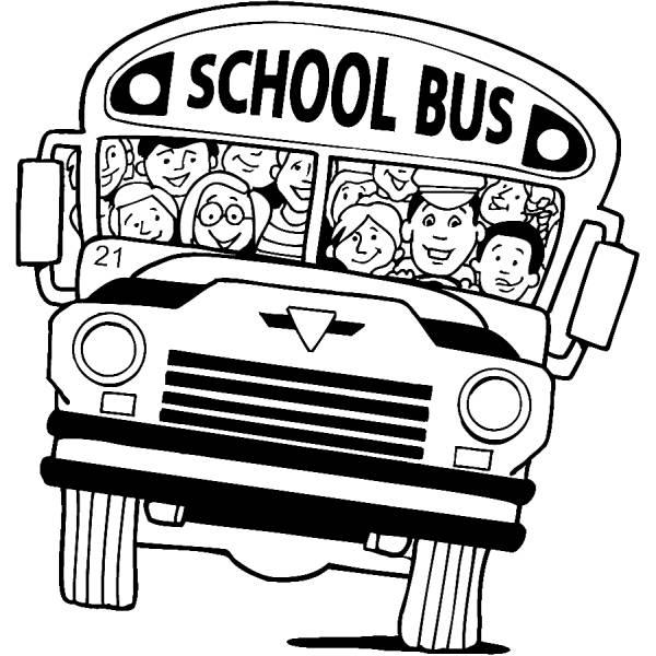 Disegno di Scuolabus da colorare