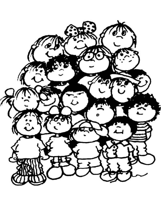 Bambini Di Tutto Il Mondo Da Colorare.Scarica Disegni Per Bambini Da Colorare Bigwhitecloudrecs