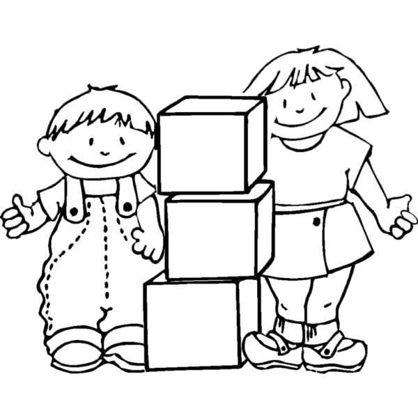 Gioco Da Colorare Per Bambini.Disegno Di Giochi A Scuola Da Colorare Per Bambini Disegnidacolorareonline Com
