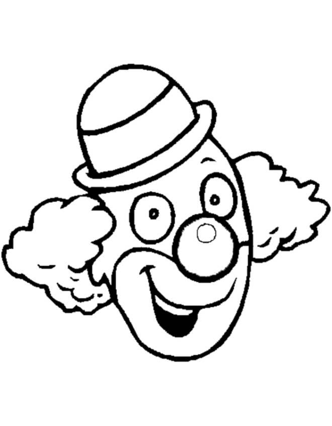 disegno di Clown da colorare