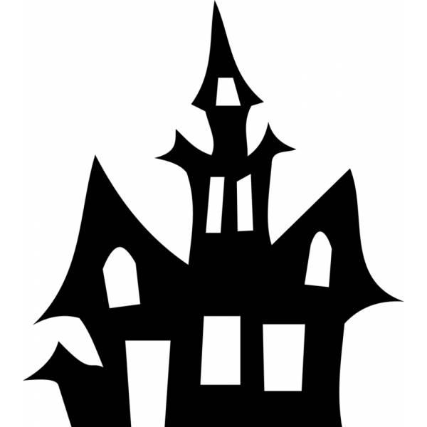 Disegno di la casa stregata da colorare per bambini for Disegni di casa da stampare