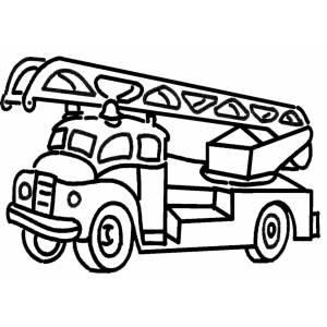 Disegni per bambini vigili del fuoco