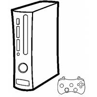 disegno di Console Giochi da colorare