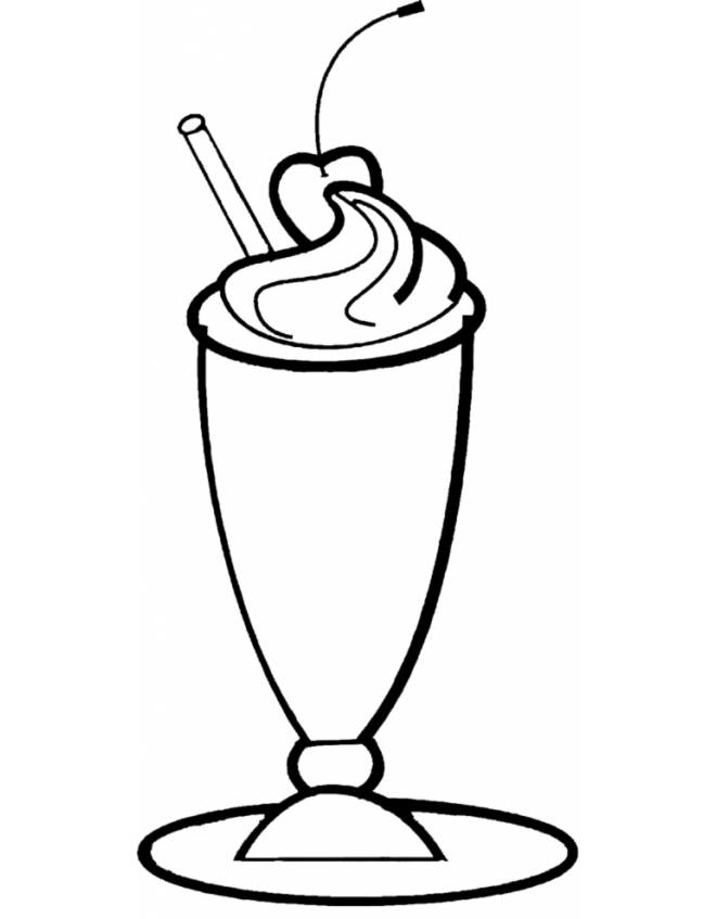 Coppa gelato disegno