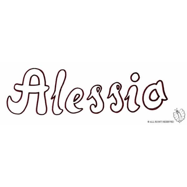 Disegno di Alessio da colorare