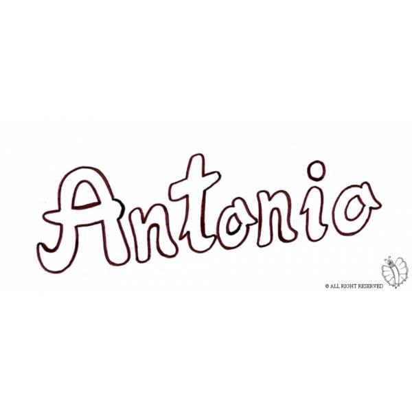 Disegno di Antonio da colorare